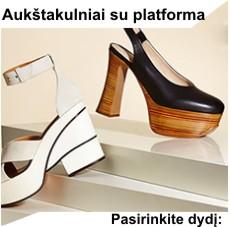 Moteriški aukštakulniai su platforma