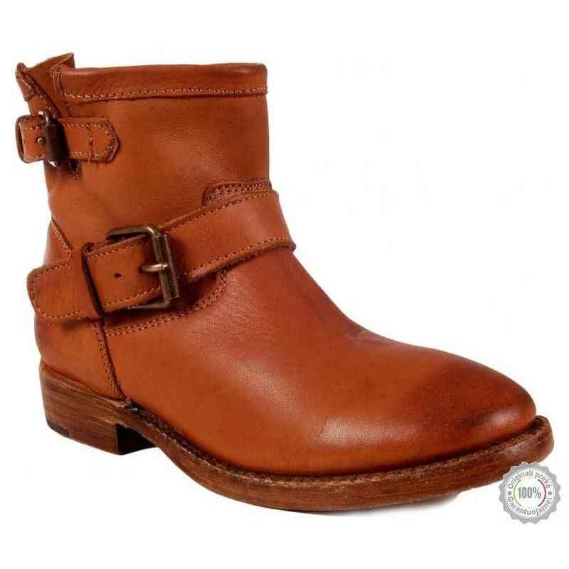 Rudi odiniai ilgaauliai batai Ash