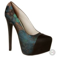 Žali aukštakulniai bateliai Sugarfree Shoes