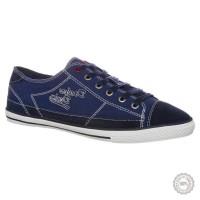 Mėlyni odiniai laisvalaikio batai Dockers by Gerli