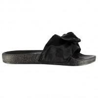 Juodos basutės Fabric Sliders