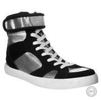 Juodi odiniai laisvalaikio batai Zign