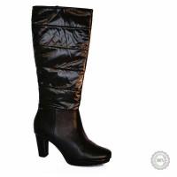 Juodi ilgaauliai batai Hogl