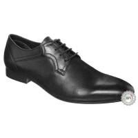Juodi odiniai klasikiniai batai Zign