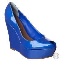 Mėlyni aukštakulniai bateliai Lillys Closet