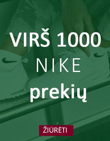 Virš 1000 Nike modelių
