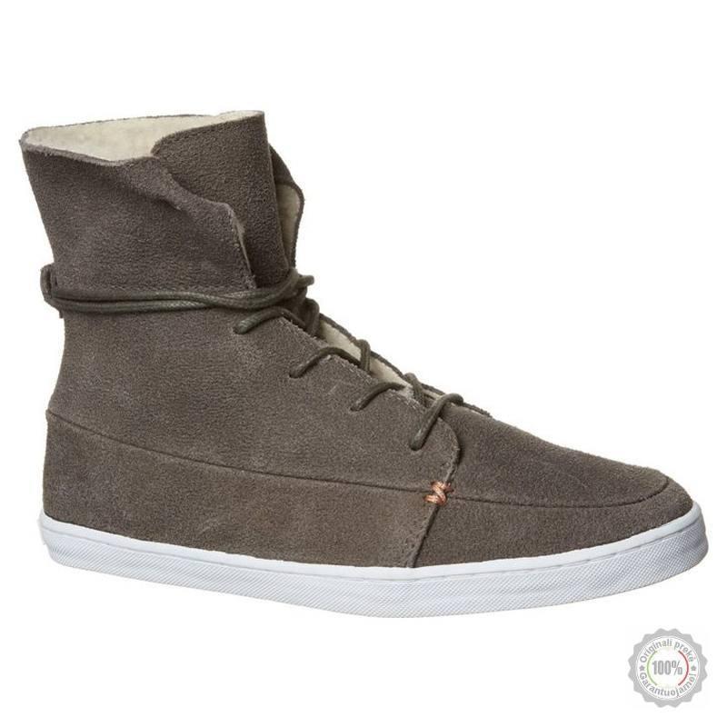 Pilki odiniai laisvalaikio batai HUB