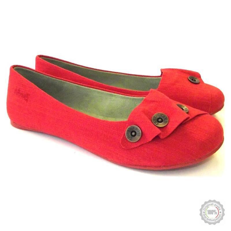 Raudonos balerinos Blowfish