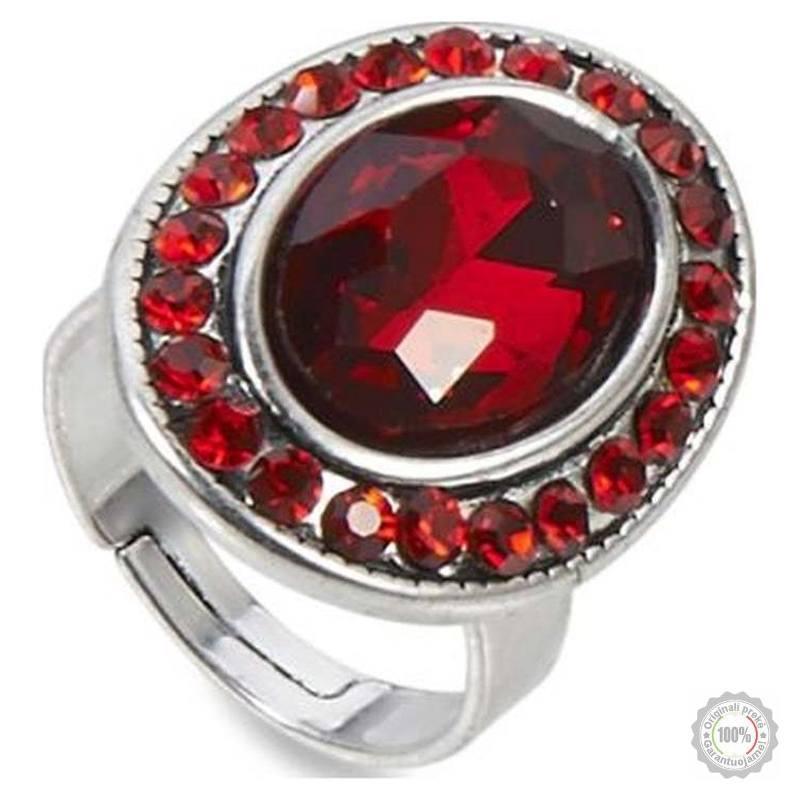 Raudonas žiedas