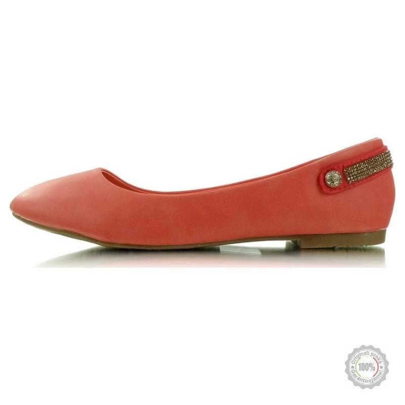 Raudonos balerinos