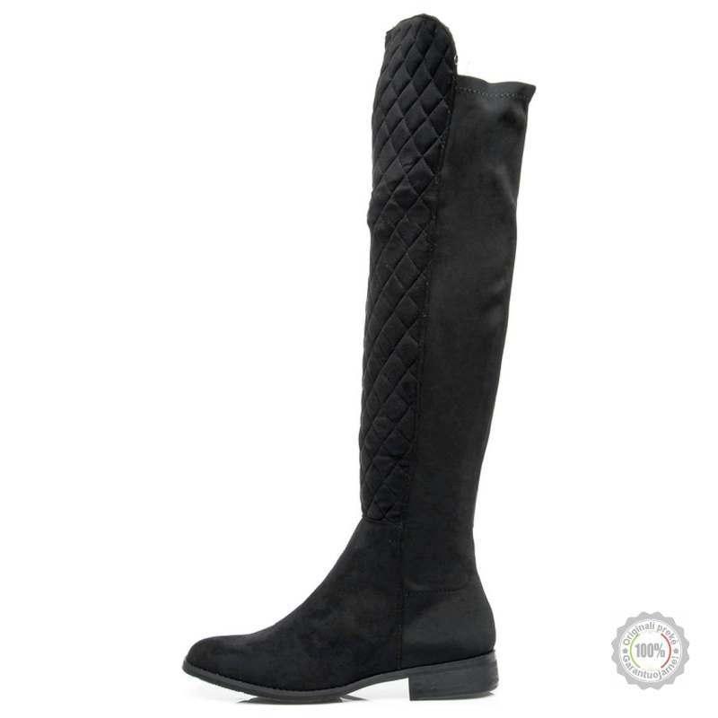 Juodi ilgaauliai batai su pašiltinimu Comer