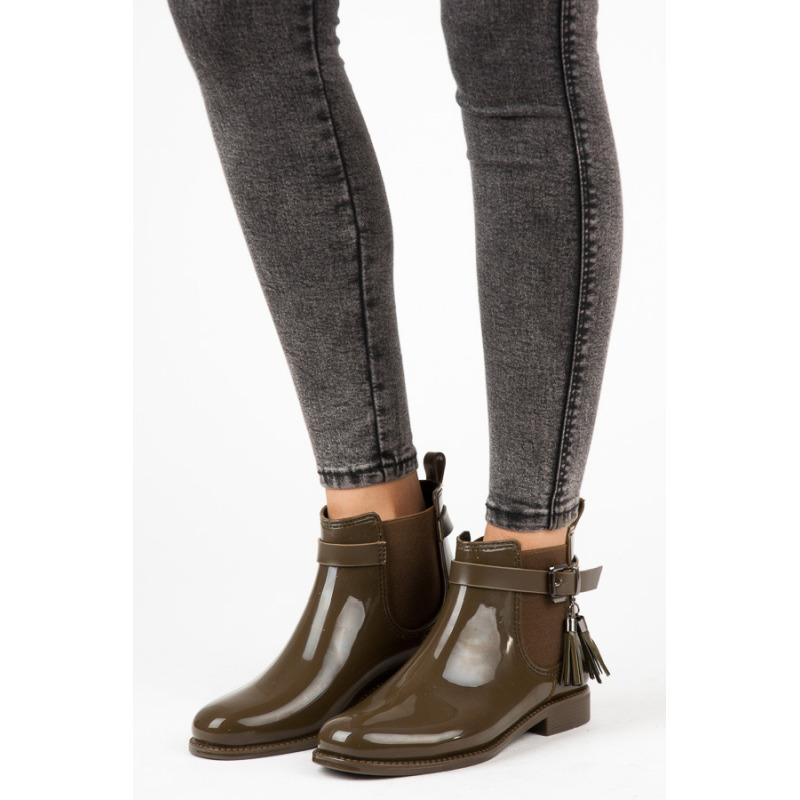 Žali guminiai batai Ideal Shoes
