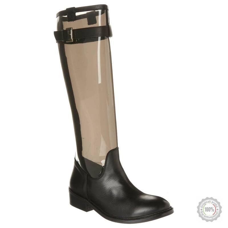Juodi ilgaauliai batai Zalando Collection