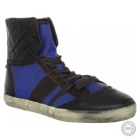 Mėlyni odiniai laisvalaikio batai Liebeskind