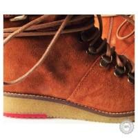 Oranžiniai odiniai aulinukai Zign #10