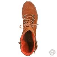 Oranžiniai odiniai aulinukai Zign #7