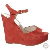 Raudonos odinės basutės Mai Piu Senza #5