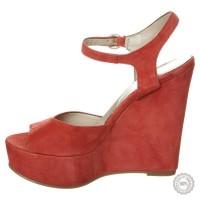 Raudonos odinės basutės Mai Piu Senza #6