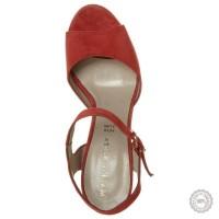 Raudonos odinės basutės Mai Piu Senza #7