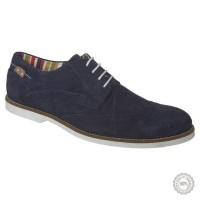 Mėlyni odiniai klasikiniai batai Pier One