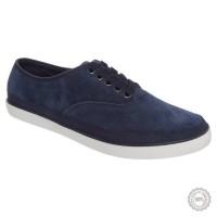 Mėlyni odiniai laisvalaikio batai Polo Ralph Lauren