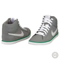 Pilki odiniai sportiniai batai Nike Capri  III Mid #4