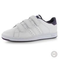 Balti odiniai sportiniai batai Lonsdale Leyton