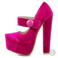 Rožiniai aukštakulniai bateliai Koi