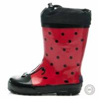 Raudoni guminiai batai American Club