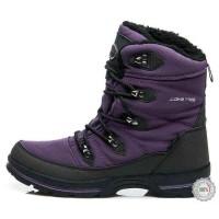 Violetiniai žieminiai batai su dirbtiniu avikailiu American Club