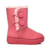 Rožiniai žieminiai batai su pašiltinimu Torna