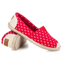 Raudoni laisvalaikio batai Ideal