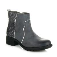 Pilki aulinukai Ideal Shoes