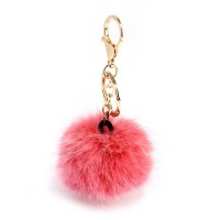 AGC1012 - Pink Fluffy Bag Charms