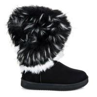Juodi žieminiai batai su pašiltinimu Super Me