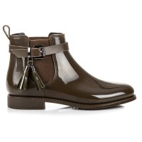 Žali guminiai batai Ideal Shoes #2