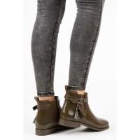 Žali guminiai batai Ideal Shoes #3