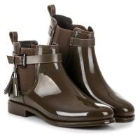 Žali guminiai batai Ideal Shoes #4