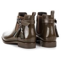 Žali guminiai batai Ideal Shoes #6