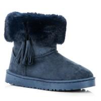 Mėlyni žieminiai batai su pašiltinimu Bella Paris