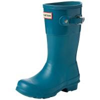 Mėlyniai guminiai batai Hunter