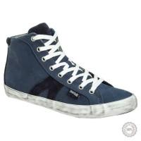 Mėlyni odiniai laisvalaikio batai Goliath