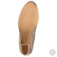 Smėlio spalvos odiniai aulinukai Maripé #3