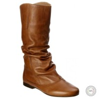 Rudi odiniai ilgaauliai batai Dune