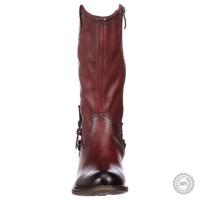 Bordo spalvos ilgaauliai batai Tamaris #2