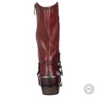 Bordo spalvos ilgaauliai batai Tamaris #3