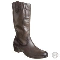 Rudi odiniai ilgaauliai batai Tamaris