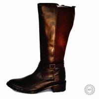 Rudi odiniai ilgaauliai batai Buffalo