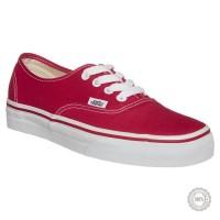Raudoni laisvalaikio batai Vans