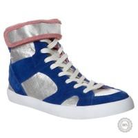 Mėlyni odiniai laisvalaikio batai Zign